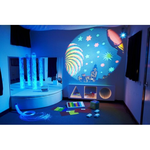 A projector is a one of the best sensory items for classroom