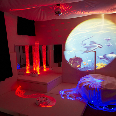 Why Choose a White Sensory Room?