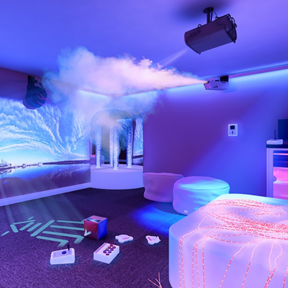 environmental control in sensory rooms