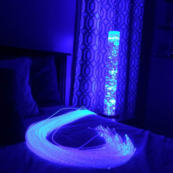 benefits of fiber optic light for children