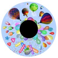 Balloon Extravaganza Effects Wheel