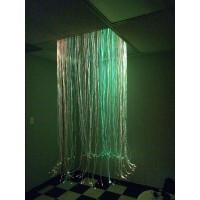 Circular Fiber Optic Shower - for Dropped Ceilings