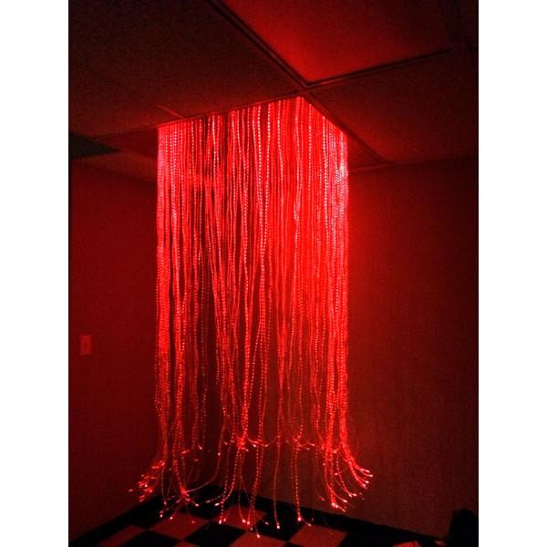 Circular Fiber Optic Shower - for Dropped Ceilings