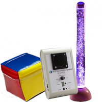 IRiS LED Bubble Tube and Qube Bundle