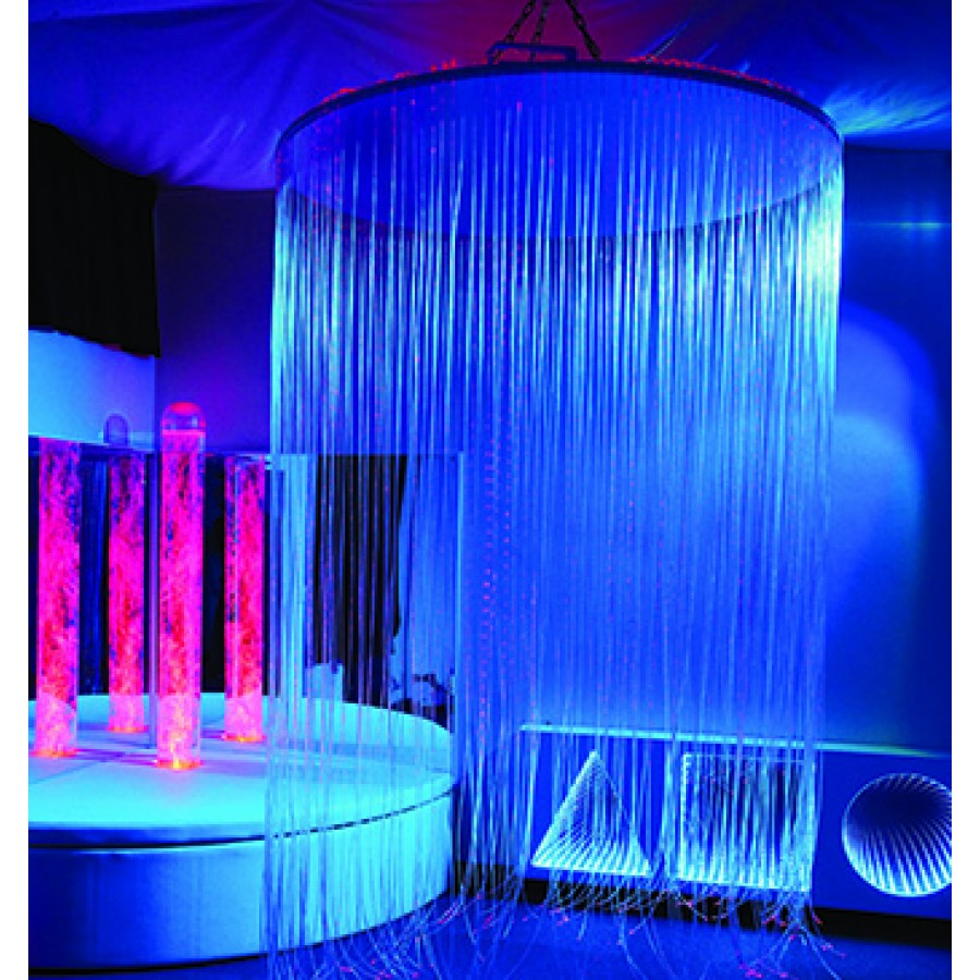 IRiS Circular LED Fiber Optic Shower Lighting
