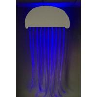 Superactive Fiber Optic Jellyfish