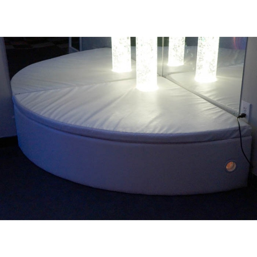 Curved Bubble Tube Platform