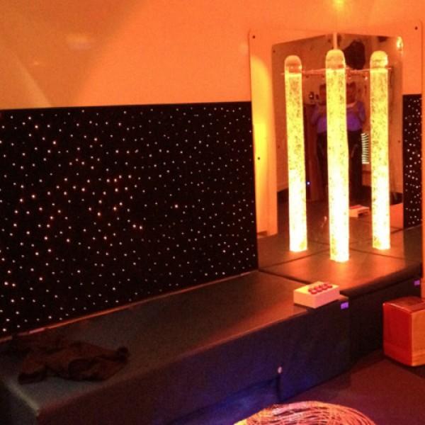 LED Fiber Optic Wall Carpet LED Wall Carpet - Fiber optic bedroom lighting