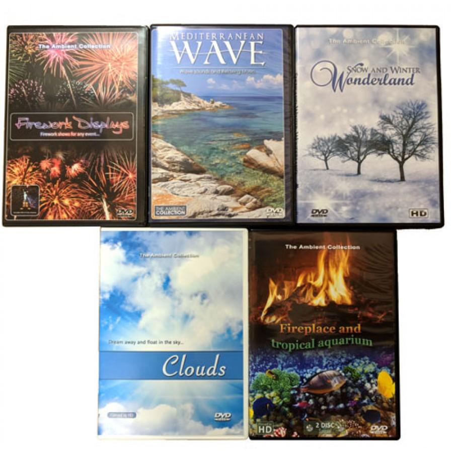 Living Scenery Bonus DVD Pack