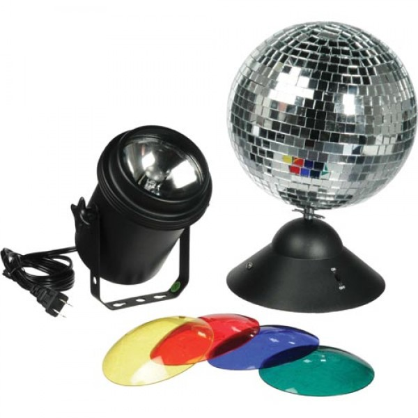 Pinspot and Mirror Ball Bundle