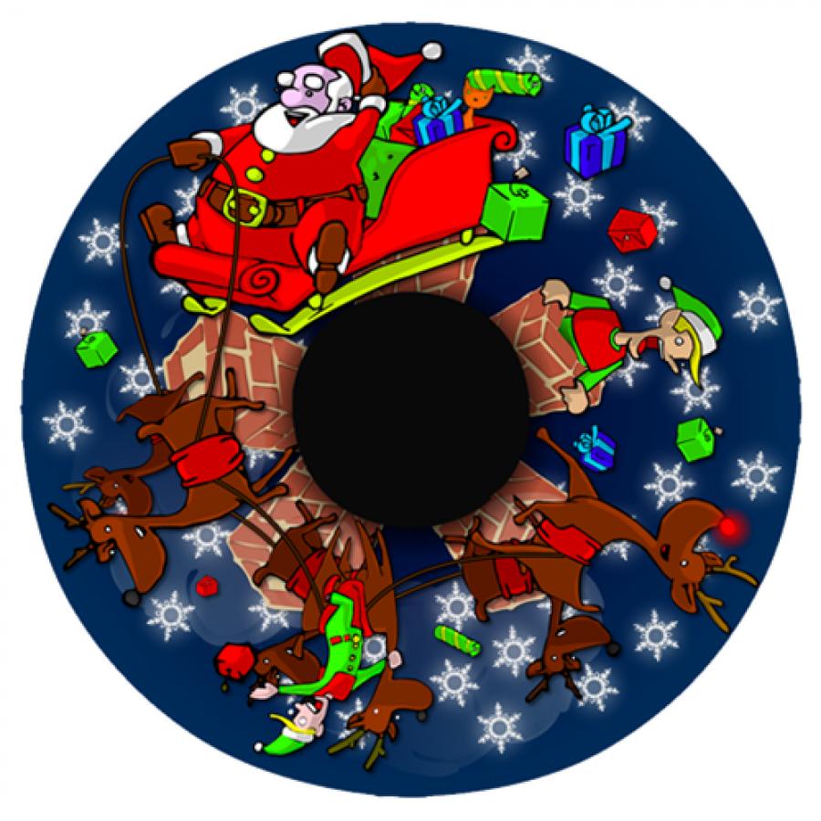 Santa's Journey Effects Wheel